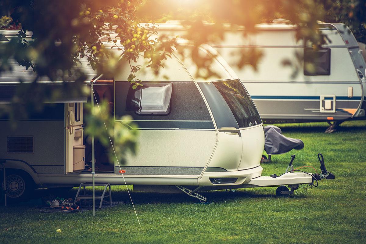 Husvagn Lövekulle camping