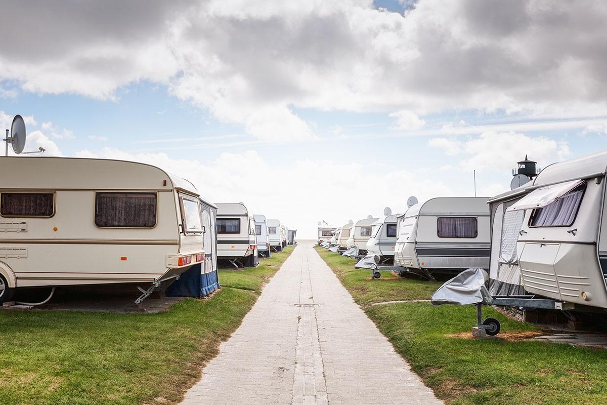 Husvagnar Lövekulle camping Alingsås